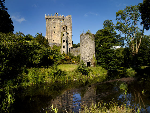 Kiss the Blarney Stone At Blarney Castle