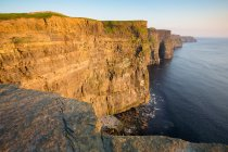 Sun hitting the Cliffs Of Moher